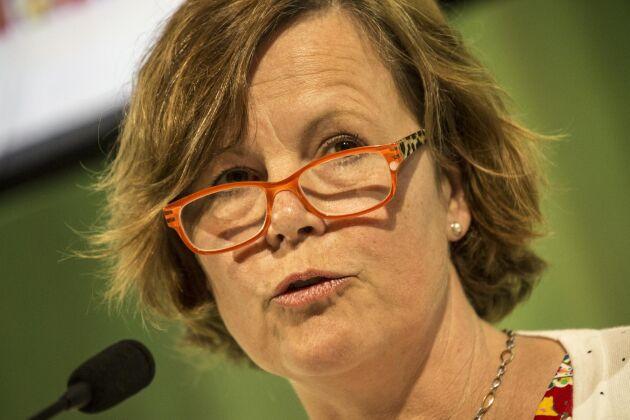 Vice ordförande Åsa Odell.