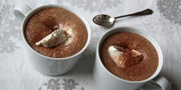 Varm choklad – en själsvärmare för frusna dagar