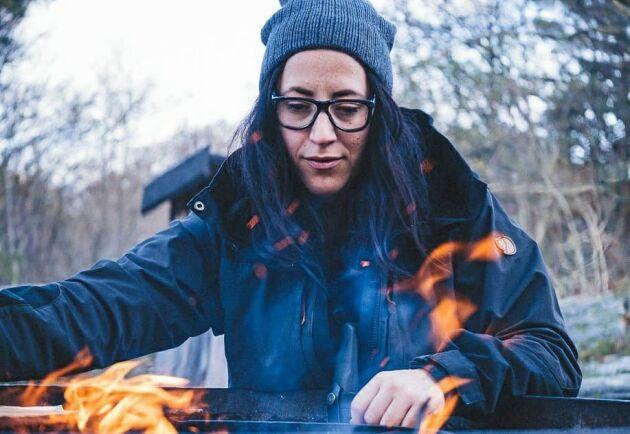 Angeliqa Mejstedt från Västerås är heltidsvandrare, sedan hon sa upp sig från toppjobbet inom HR för att istället skapa sitt drömjobb.