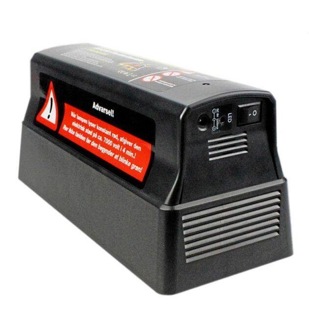 Det finns flera typer av elektriska fällor på marknaden.