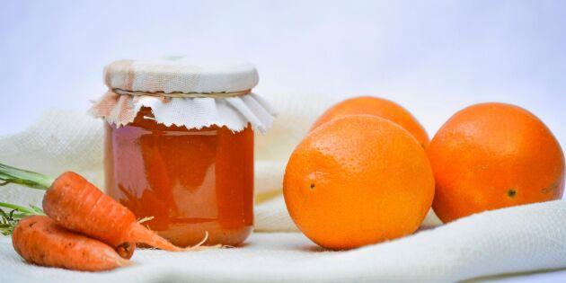 Finfint recept på morotsmarmelad