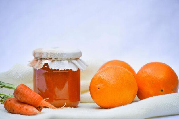 Morot och citrus ihop är en fin smakkombo som passar perfekt i marmelad.