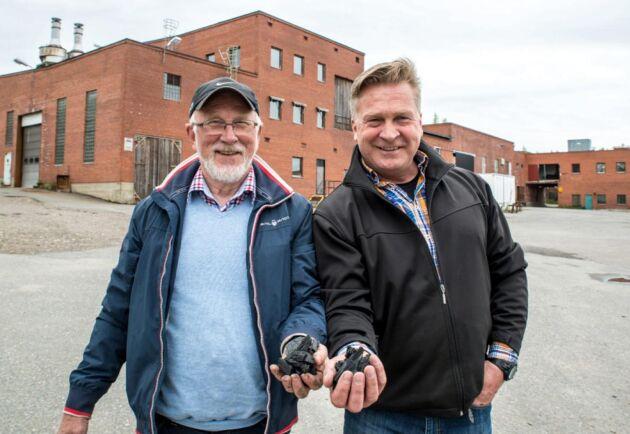 Grundarna av Envigas, Harry Johansson och Håkan Holmberg.