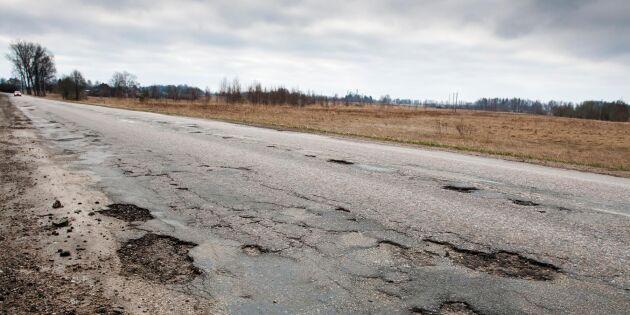 Tjälen bäddar för fler vägskador