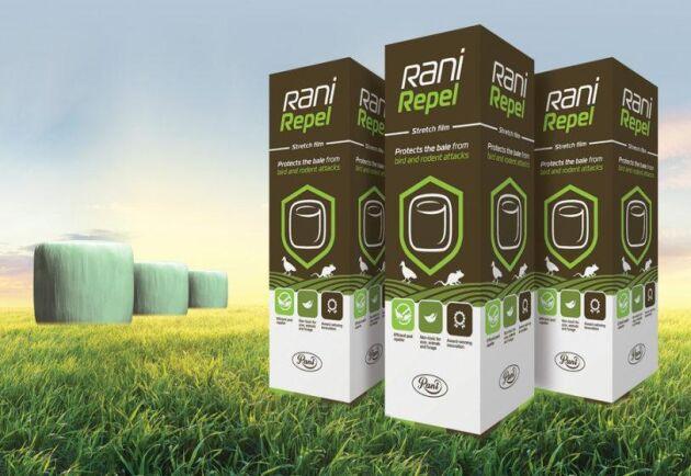 Den nya ensilagesträckfilmen Rani Repel ska skydda mot skadedjur utan att vara skadligt för djuren som ska äta fodret eller den omgivande miljön.