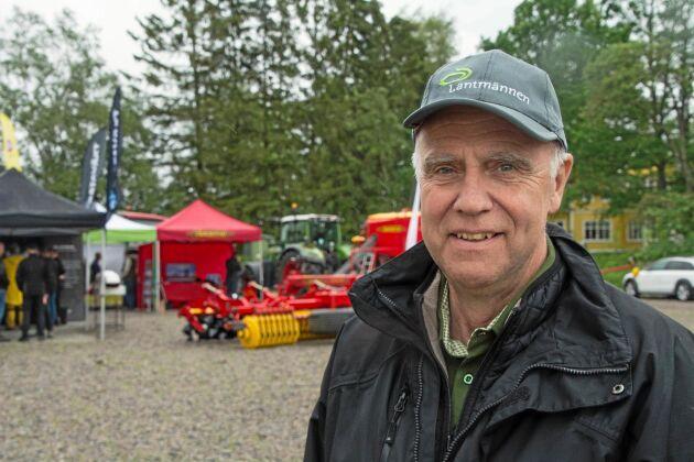 Lantmännen arrangerade Bjertorpsdagen för 21:a gången. Distriktschef Bengt Karlsson konstaterar att arrangemanget för första gången hölls dagtid.