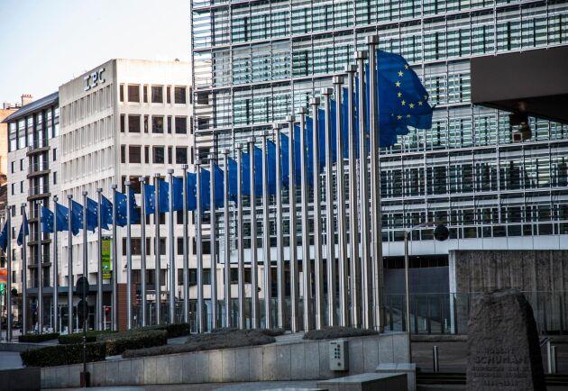 EU-kommissionen presenterar stödpaket för att lindra effekterna av corona. Arkivbild.