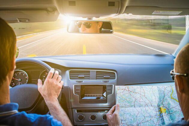 Bilkartor var det man navigerade med, före GPS-teknikens intåg.