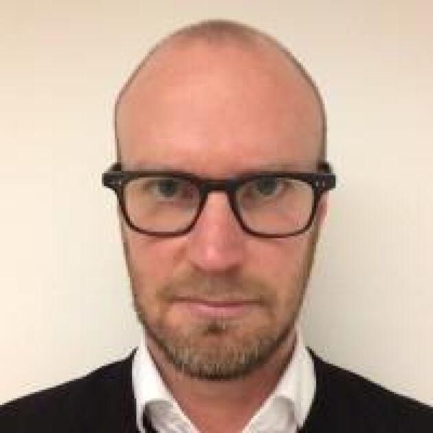 Daniel Emilson, presschef på Arla Foods varnar för smörbrist.