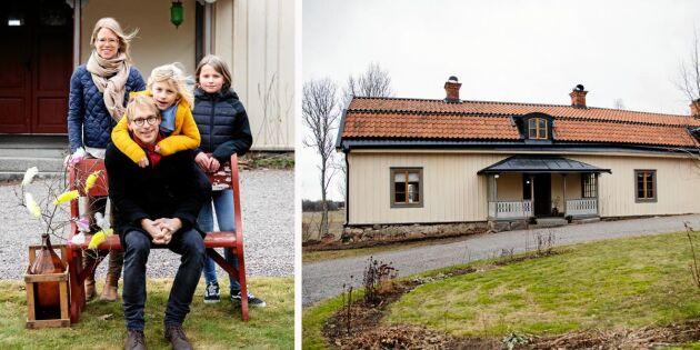 Familjen Lindgren återställer Funbo prästgårds forna glans