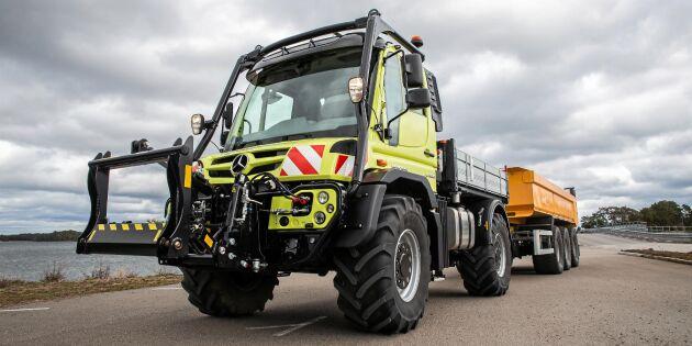 Stort A till Unimog i traktorversion