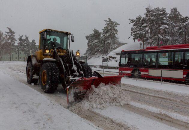 I bara tre av Stockholms tretton stadsdelar var majoriteten av invånarna nöjda med snöröjningen.