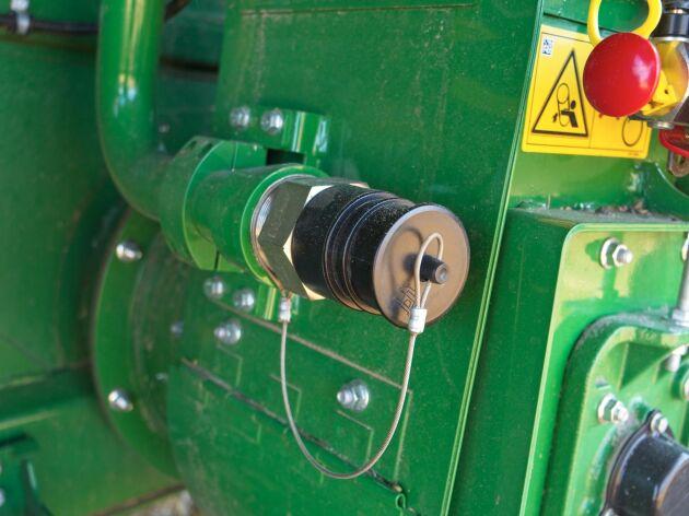 Med fastfill-systemet tankar man 550 liter per minut.