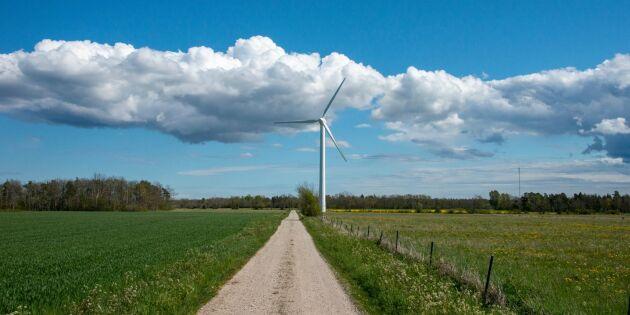 Gamla vindkraftverk kan ge pengar till nya markägare