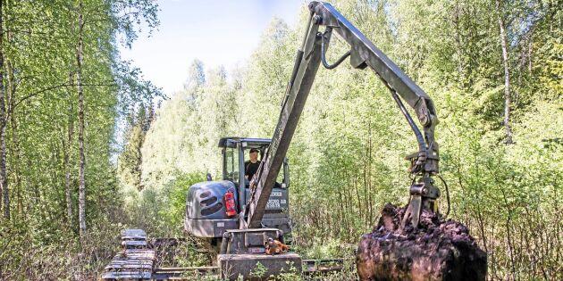 Unika maskinen maxar skogsarbetet