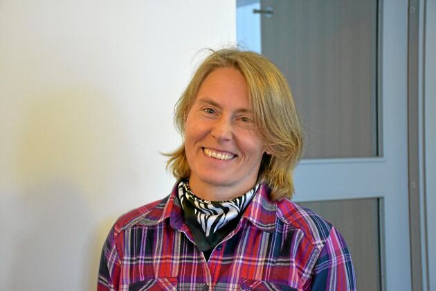Sofia Kämpe är mjölkbonde och ordförande i Karlsborgsbygdens LRF-avdelning.