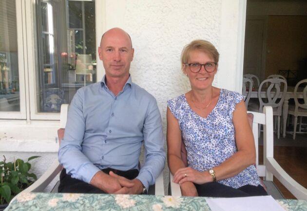 Hans-Anders och Karin Odh.