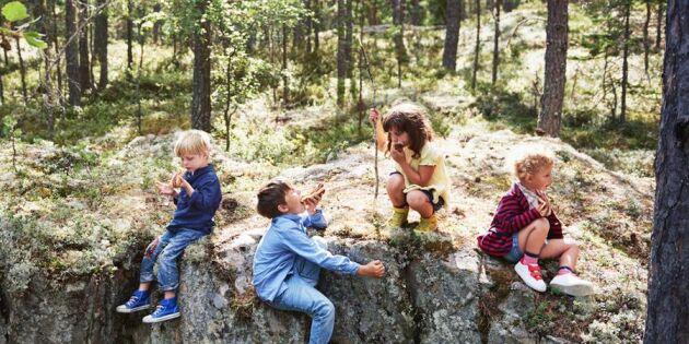 Ny forskning: Vart fjärde barn går inte ut – så kan du locka dem!