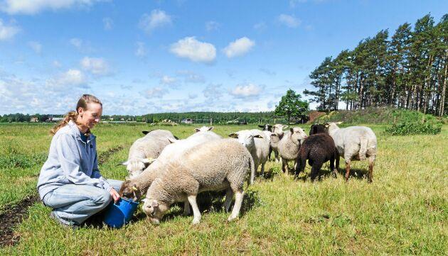 Att bli lantbrukare var en självklarhet för Anna Carlevad som efter naturbruksgymnasium arbetade på olika gårdar innan hon tog över släktgården utanför Kalmar. Som ung tävlade hon i showmanship och ställde ut kor i tävlingar.