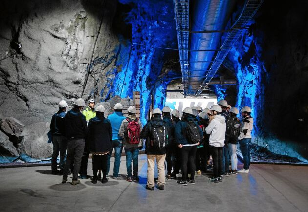 Gruvan i Kiruna har länge varit ett högintressant besöksmål, och det anordnas flera guidade turer per dag.