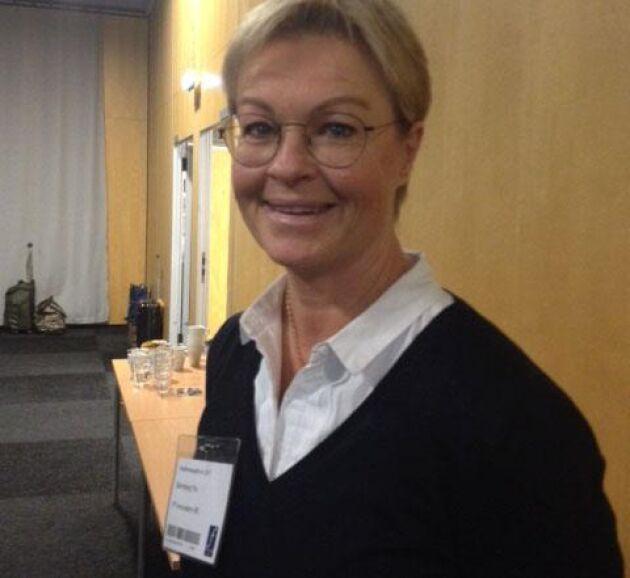 Pia Sternberg ville förenkla broddningen av hästar för att klara gå på is eller gräs utan att halka och tog fram en ny produkt.