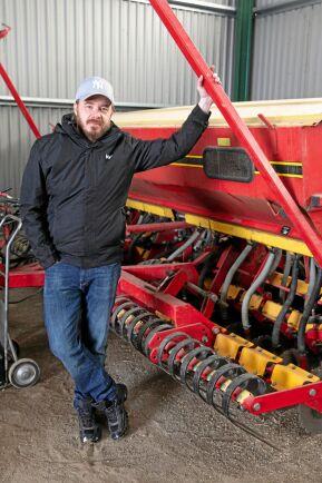 Johan Bergh, lantbrukare i Sala.