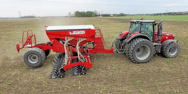 Tror att direktsådden kan revolutionera lantbruket