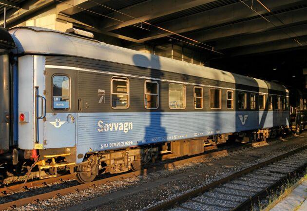 De svenska tågen går inte att köra på de europeiska tågrälserna eftersom de har en för bred vagnprofil.