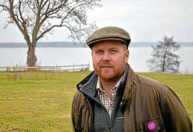 Johan Lagerholm, rådgivare på Växtråd, ser också problem med för höga arrendepriser i förhållande till lönsamheten.