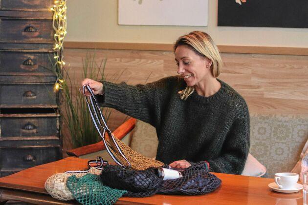 – Platspåsar är väldigt lönsamma för butiker så jag är väldigt stolt över att vi lyckats så bra på kort tid, säger Gina Nyguist.