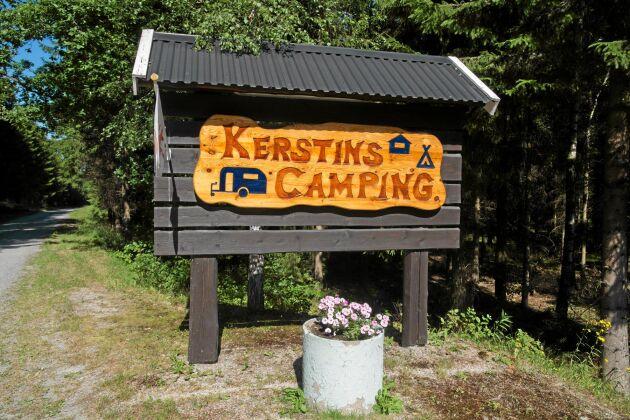 Kerstins camping heter den efter Freddys mamma som var med och drev den i början.