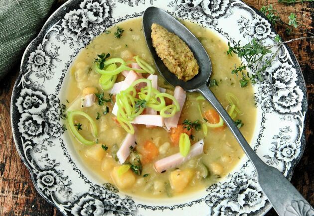 Soppa är värmande god höst- och vintermat.
