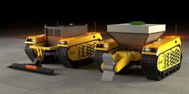 Snart kan robotar ta över i skogen