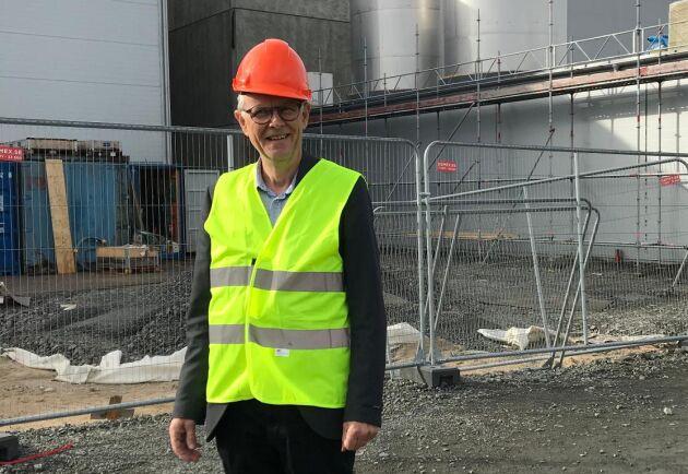 Lyckeby och VD Hans Berggren har många järn i elden. De planerar fortsatt utbyggnad, testar genförändrad gröda och jobbar för fler potatisodlare.