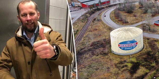 Glada Bonden köper Boxholms mejeri