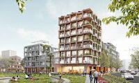 Helt kvarter i trä när Stockholm växer