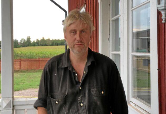 Claes Jonsson, bonde i Tibro och vice ordförande i Sveriges mjölkbönder.