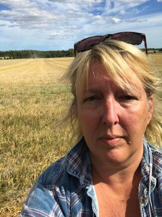Spannmålsproducenten Maria Berg är en av de drabbade.