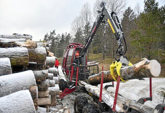 Basen i företagets kundkrets utgörs av självverksamma skogsägare som är mycket engagerade i sin skog.