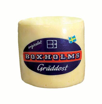 Boxholms Gräddost är Sveriges första och en av mejeriets storsäljare.