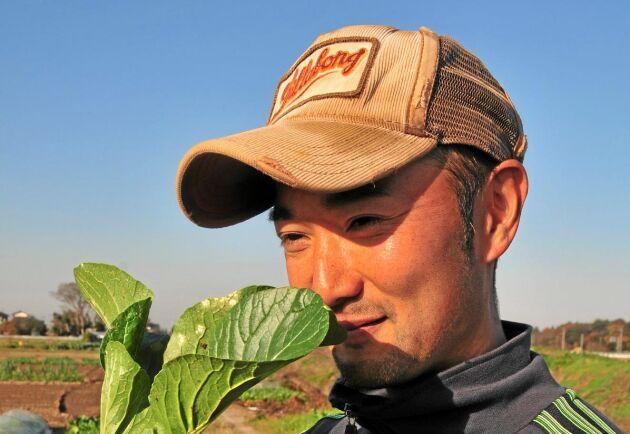 Det var när Setsuo Nakagoshi körde vilse på landsbygden med sportbilen en söndagseftermiddag han såg hur rofyllt grönsaksodlandet var.
