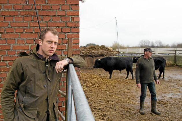 Eric och Christer Månsson i Frönshult har satsat på den japanska köttrasen Wagyu.