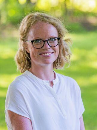 Sandra Lennartsson, samordnare för arbetsmarknadsutbildningar vid Hvilan utbildning.