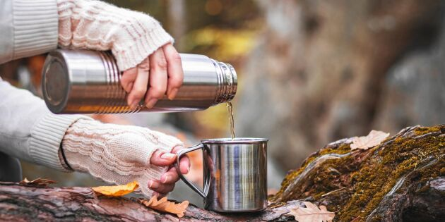 Så gör du kaffetermosen fin och fräsch igen – 4 smarta tips!