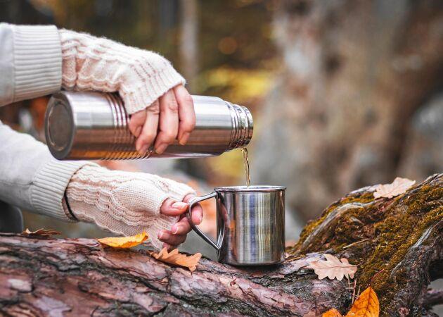 Så gör du kaffetermosen fin och fräsch igen