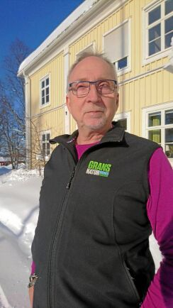 Bo Wiberg, rektor .vid Grans naturbruksgymnasium i Piteå.