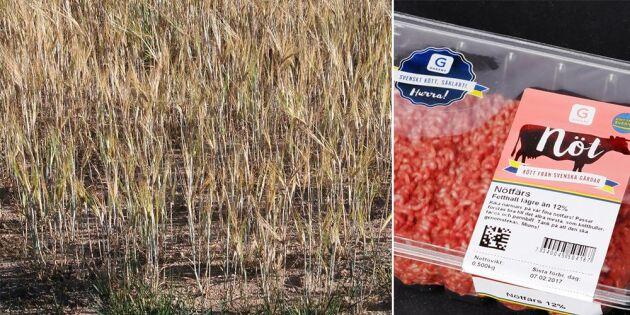 Åtta av tio köper svenskt för böndernas skull