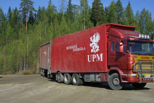 Denna finska lastbil har ingenting med chippningen att göra.
