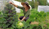 Hon bytte ut lektionssalen mot odlingen