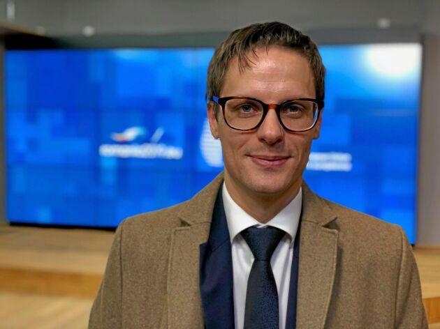 Statssekreterare Per Callenberg trädde in för landsbygdsminister Jennie Nilsson vid rådsmötet om Cap i Bryssel.